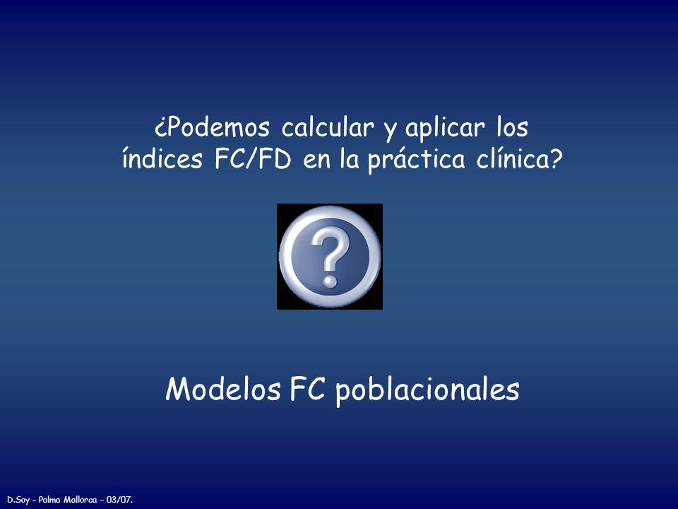 Modelos FC poblacionales