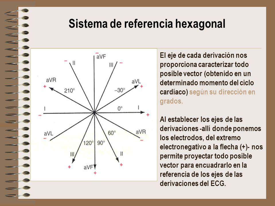 Sistema de referencia hexagonal
