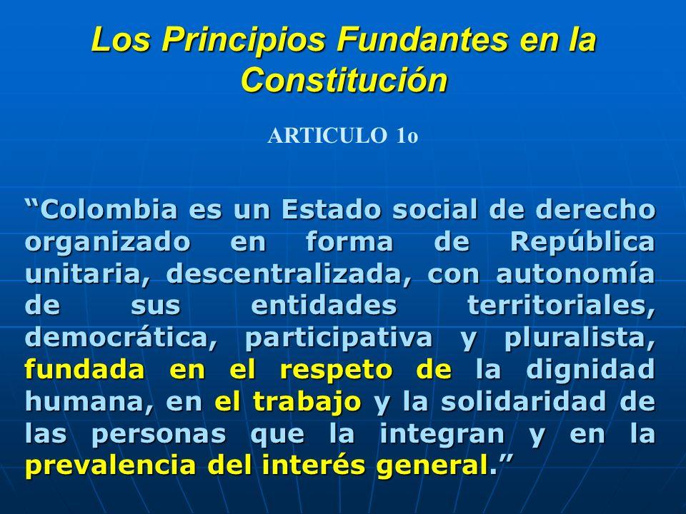 Los Principios Fundantes en la Constitución
