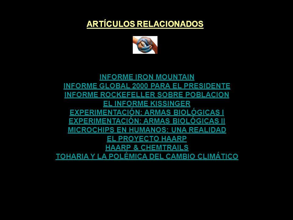 ARTÍCULOS RELACIONADOS TOHARIA Y LA POLÉMICA DEL CAMBIO CLIMÁTICO
