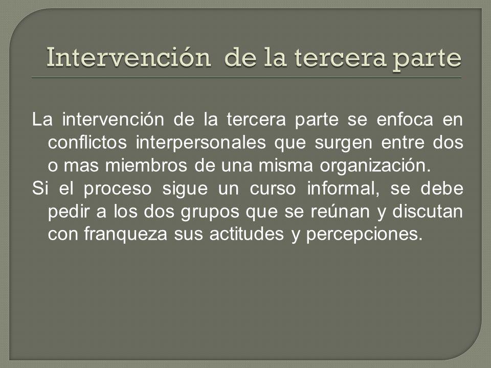 Intervención de la tercera parte