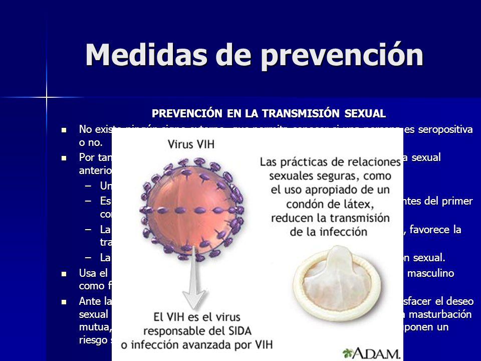 PREVENCIÓN EN LA TRANSMISIÓN SEXUAL