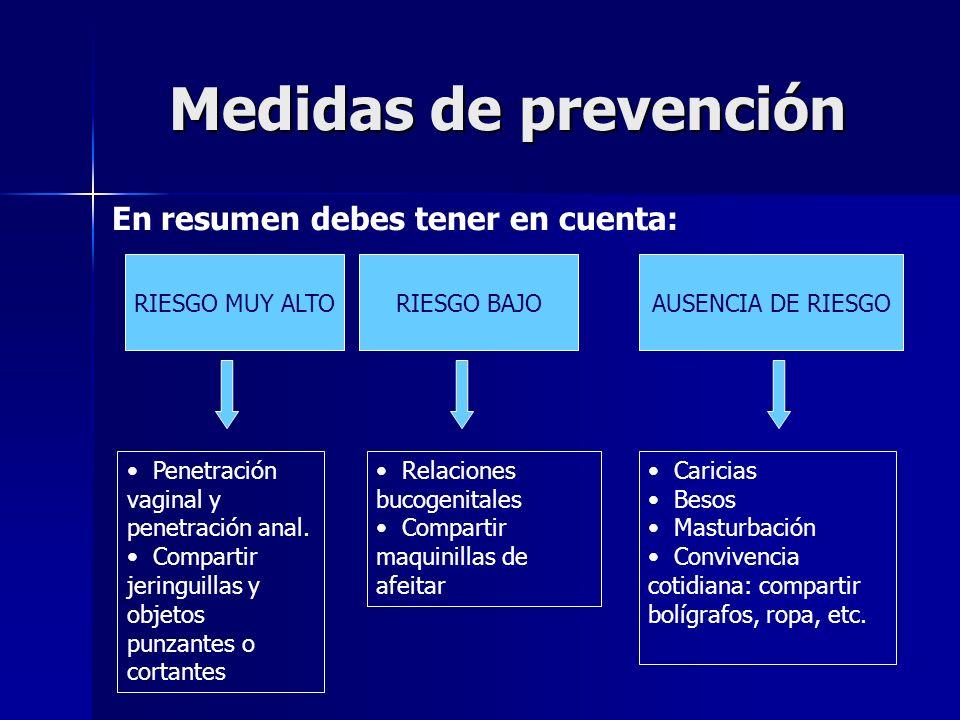 Medidas de prevención En resumen debes tener en cuenta: