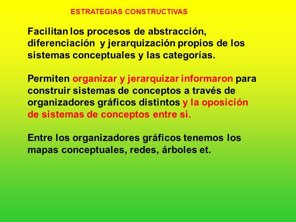 ESTRATEGIAS CONSTRUCTIVAS