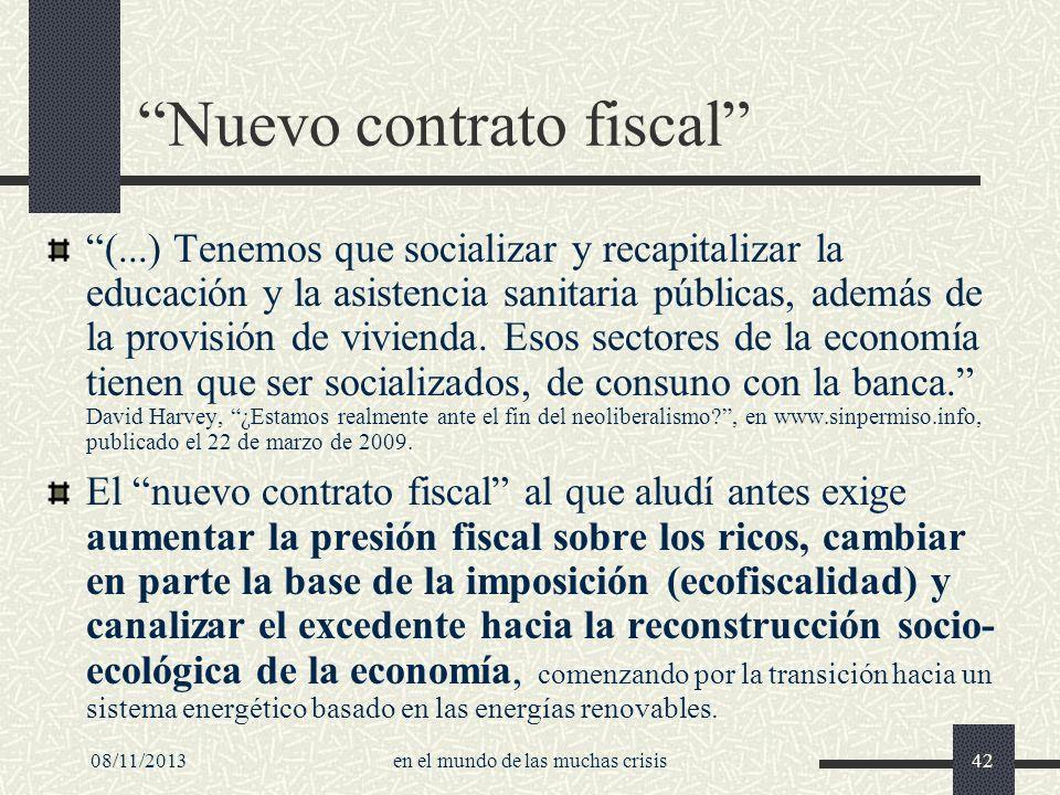 Nuevo contrato fiscal