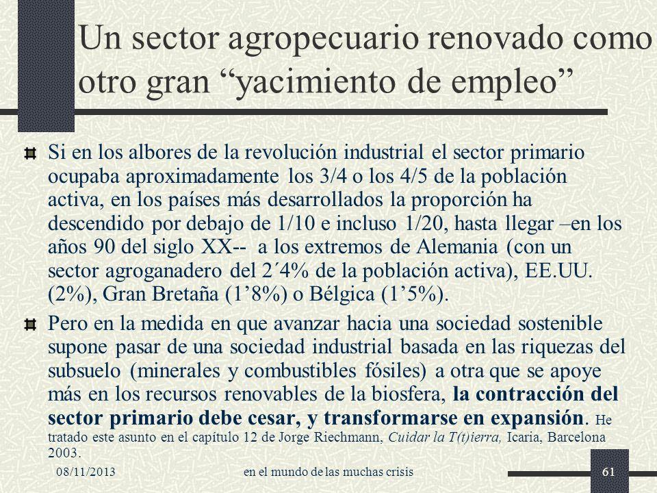 Un sector agropecuario renovado como otro gran yacimiento de empleo