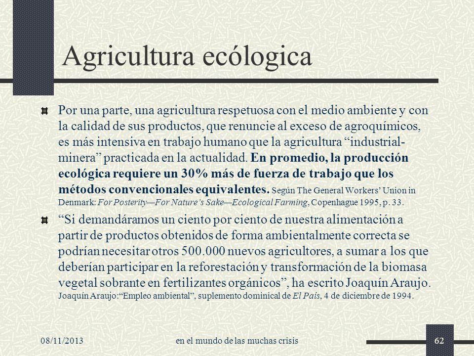 Agricultura ecólogica