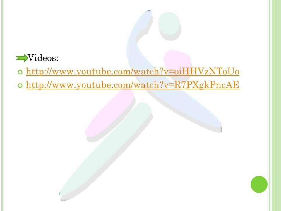 Videos: http://www.youtube.com/watch v=oiHHVzNToUo http://www.youtube.com/watch v=R7PXgkPncAE