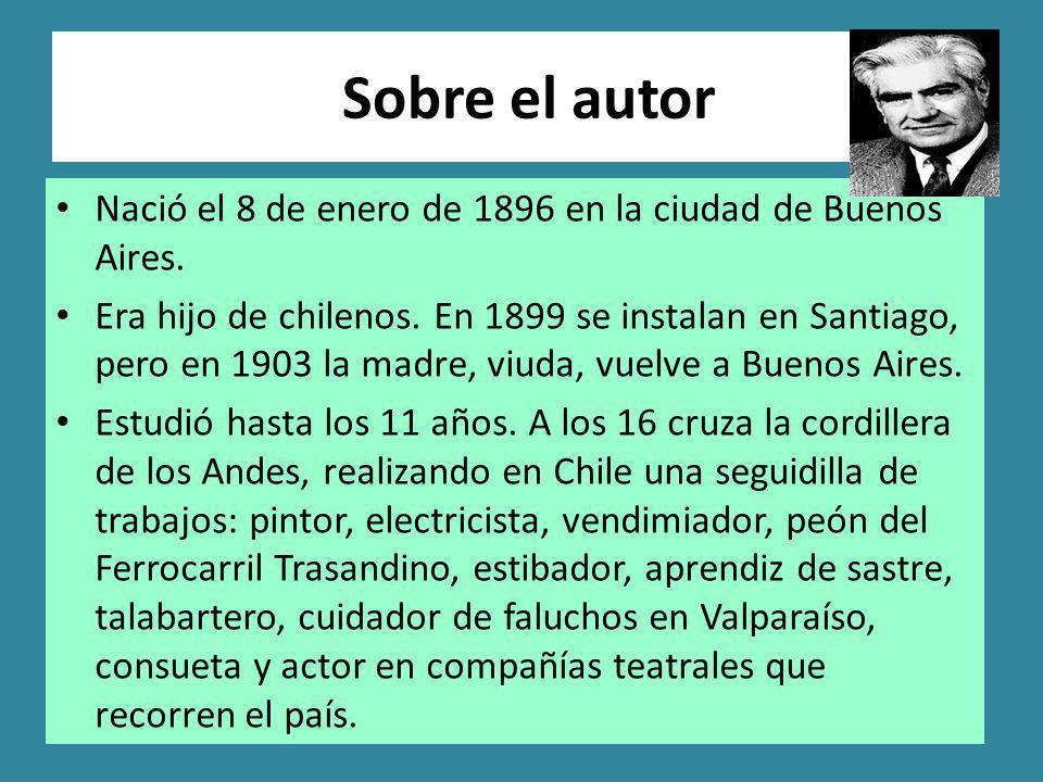 Sobre el autor Nació el 8 de enero de 1896 en la ciudad de Buenos Aires.
