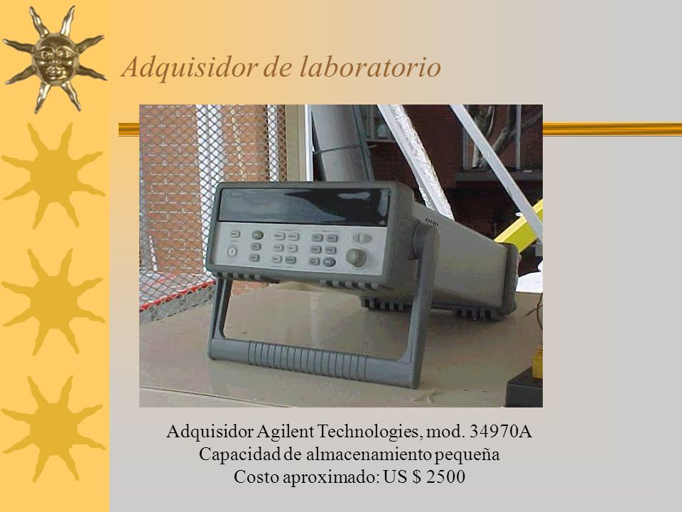 Adquisidor de laboratorio