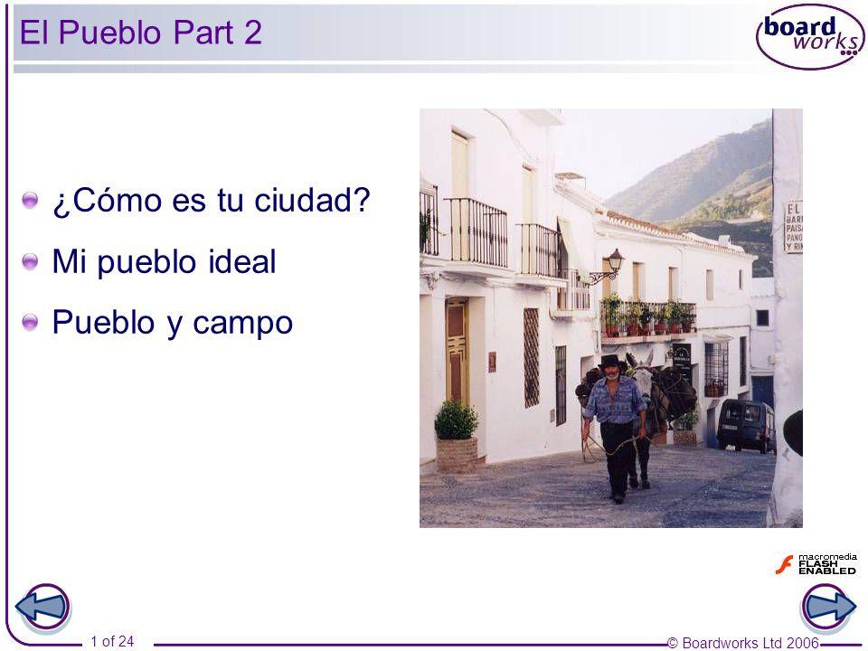 El Pueblo Part 2 ¿Cómo es tu ciudad Mi pueblo ideal Pueblo y campo