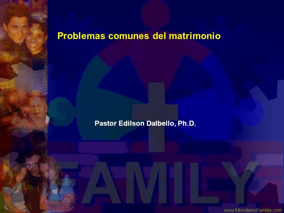 Problemas comunes del matrimonio