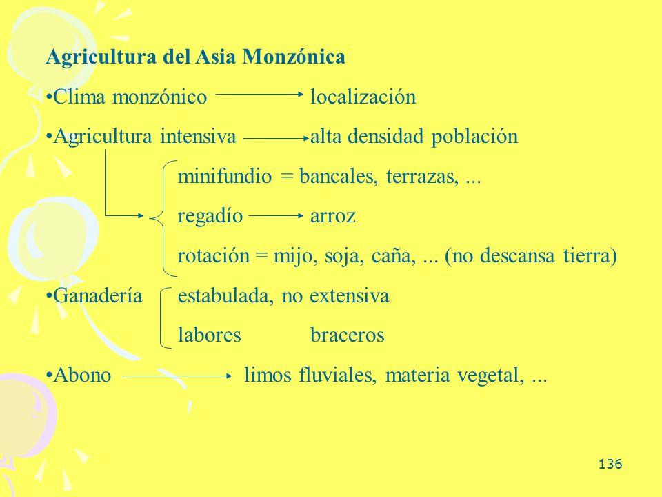 Agricultura del Asia Monzónica