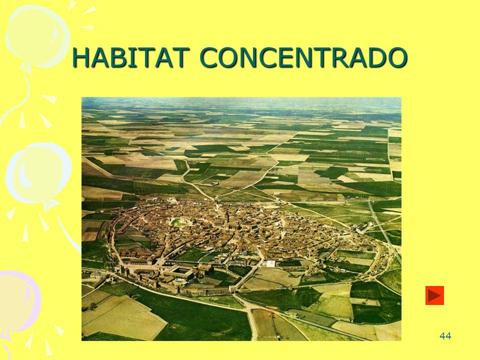 HABITAT CONCENTRADO