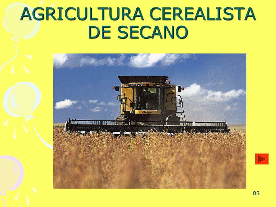 AGRICULTURA CEREALISTA DE SECANO