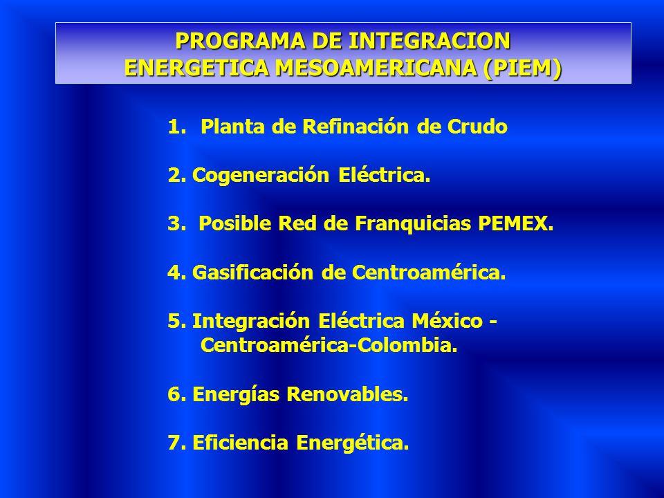 PROGRAMA DE INTEGRACION ENERGETICA MESOAMERICANA (PIEM)