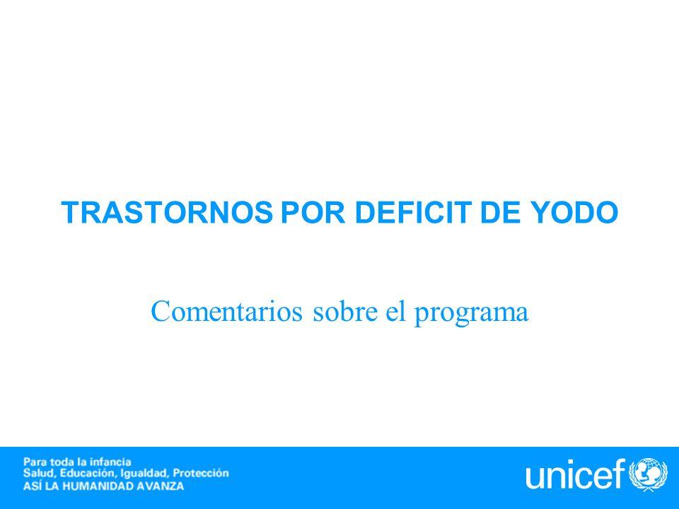 TRASTORNOS POR DEFICIT DE YODO