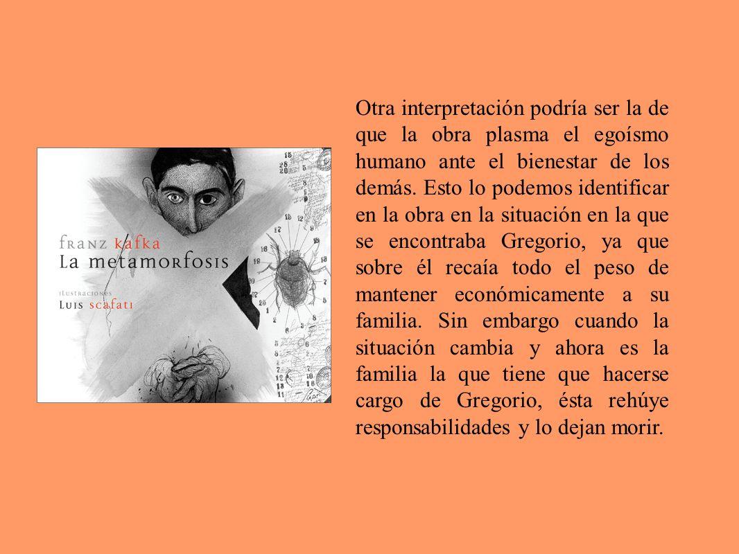 Otra interpretación podría ser la de que la obra plasma el egoísmo humano ante el bienestar de los demás.