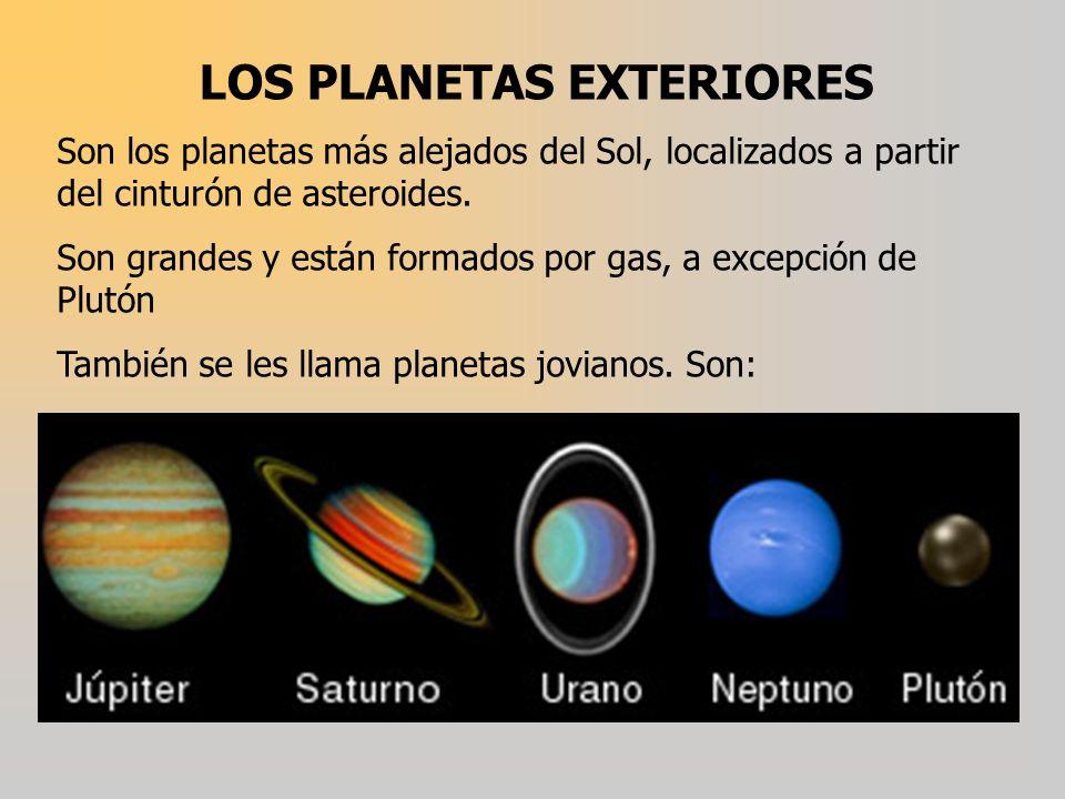 LOS PLANETAS EXTERIORES