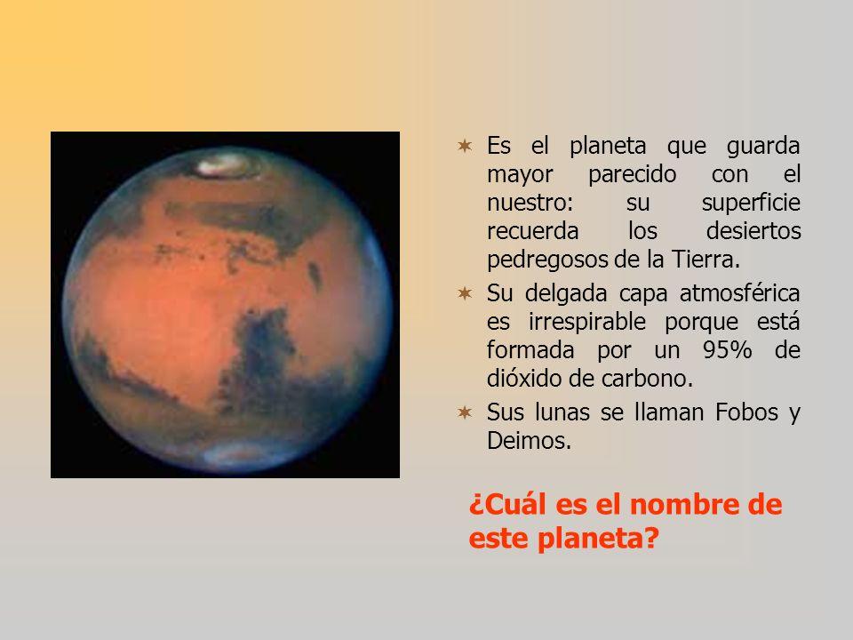 ¿Cuál es el nombre de este planeta