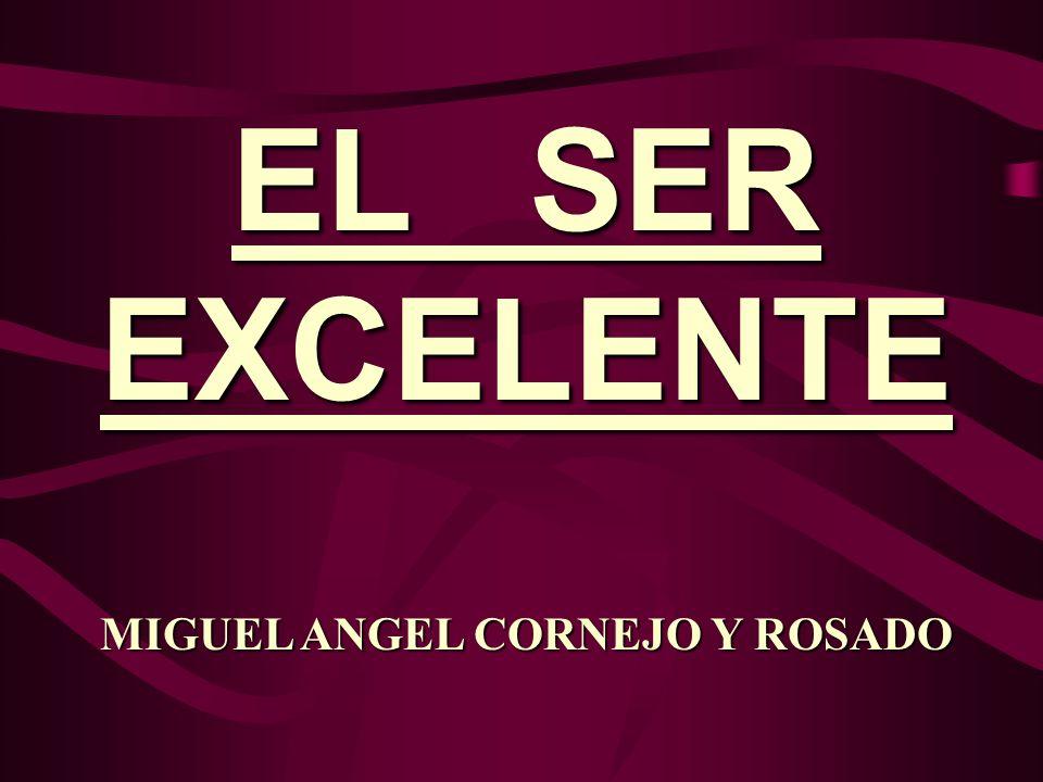 MIGUEL ANGEL CORNEJO Y ROSADO