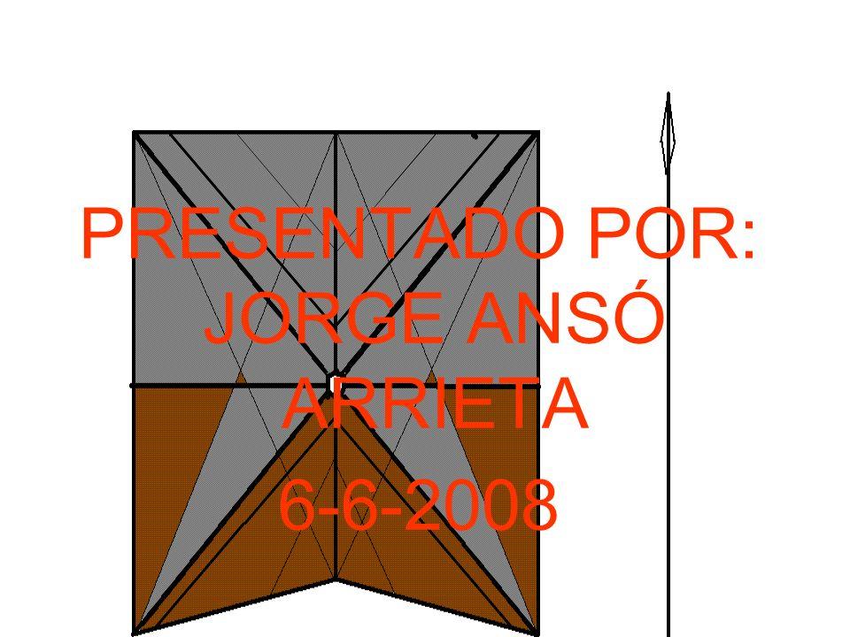 PRESENTADO POR: JORGE ANSÓ ARRIETA