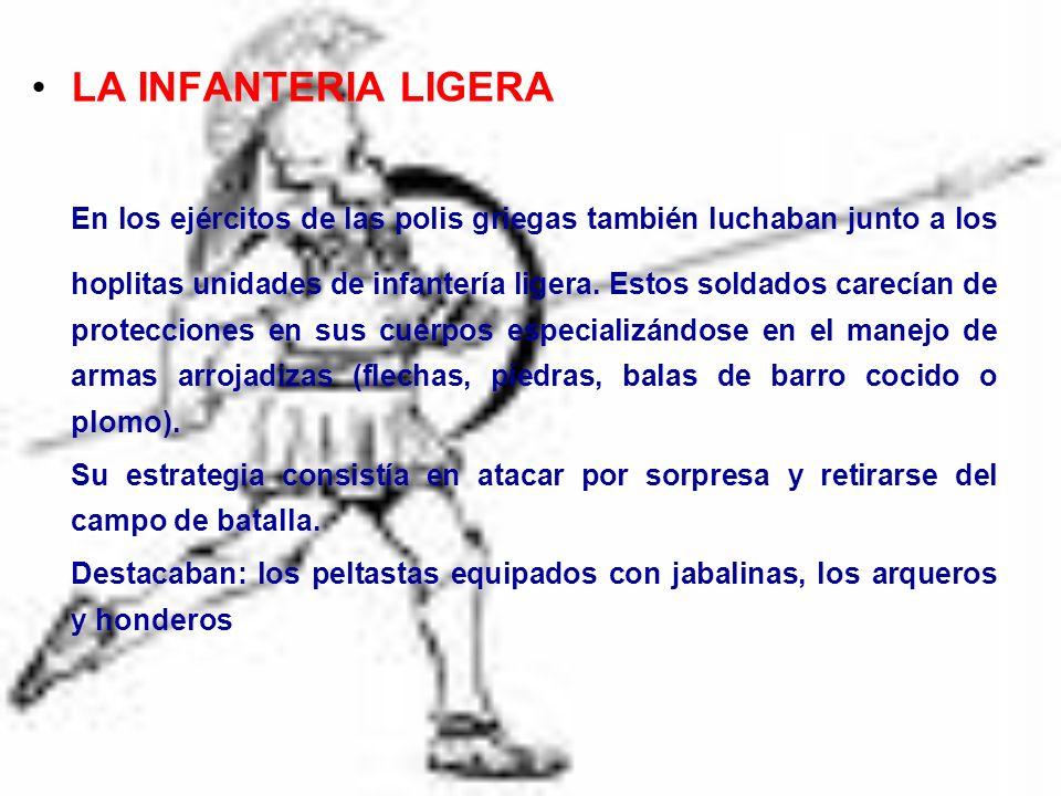LA INFANTERIA LIGERA