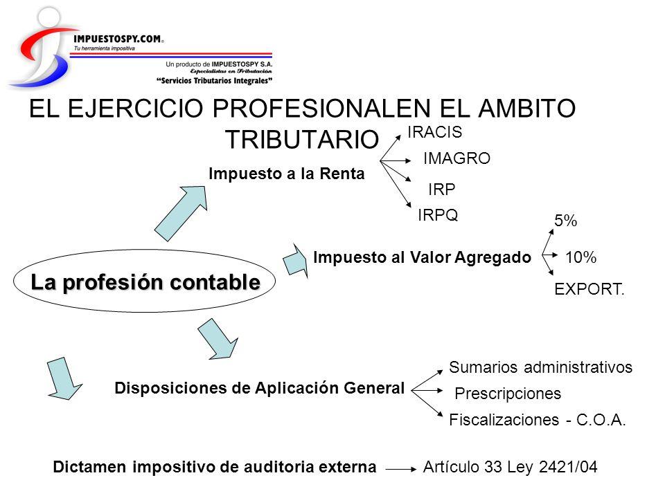 EL EJERCICIO PROFESIONALEN EL AMBITO TRIBUTARIO