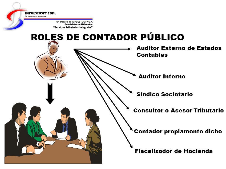 ROLES DE CONTADOR PÚBLICO