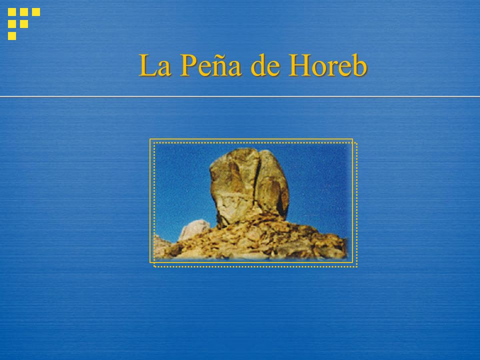 La Peña de Horeb