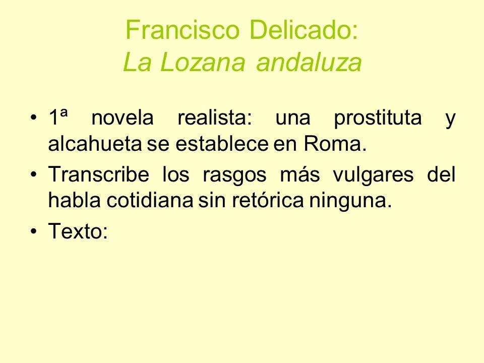 Francisco Delicado: La Lozana andaluza