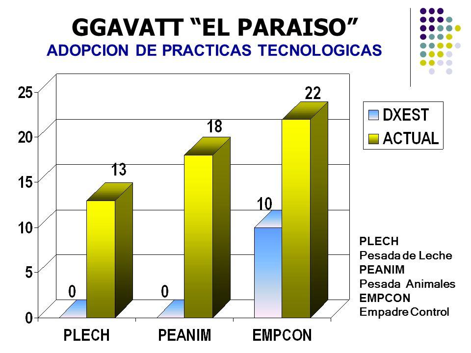 ADOPCION DE PRACTICAS TECNOLOGICAS