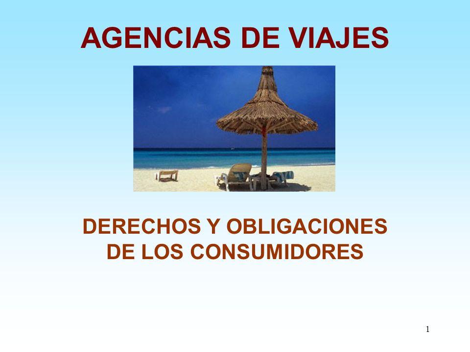 DERECHOS Y OBLIGACIONES DE LOS CONSUMIDORES