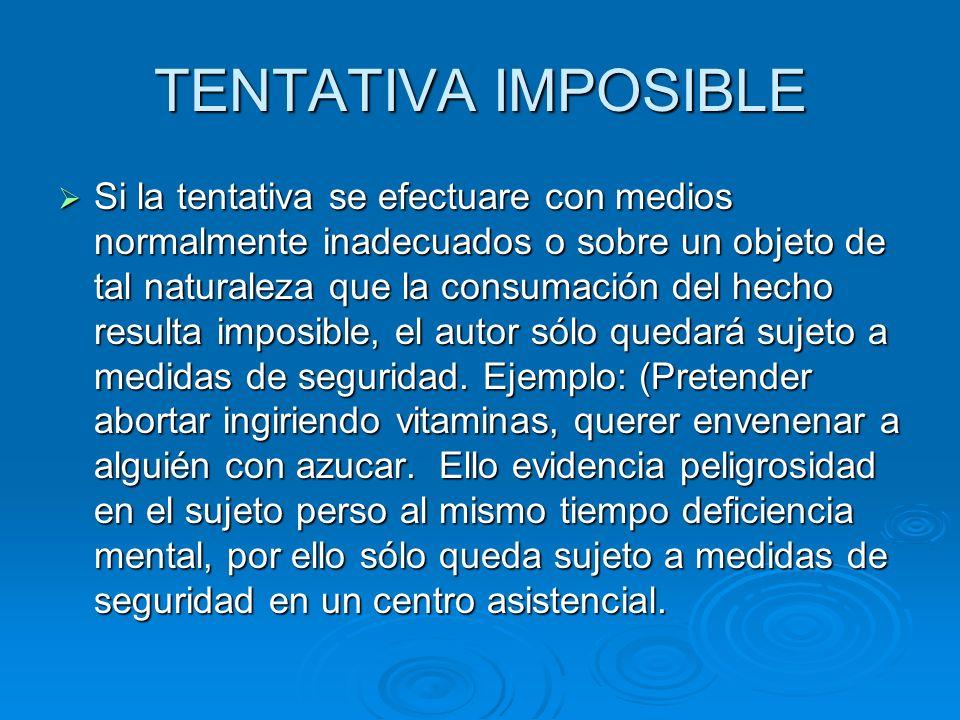 TENTATIVA IMPOSIBLE