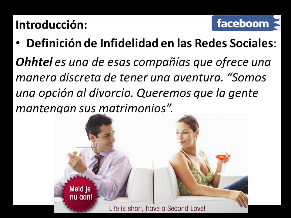 Introducción:Definición de Infidelidad en las Redes Sociales: