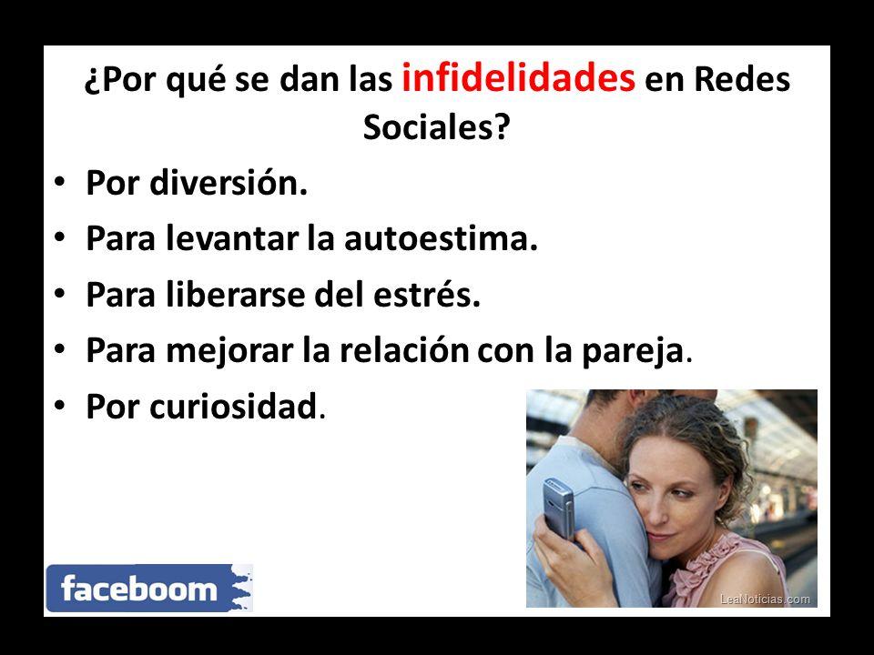 ¿Por qué se dan las infidelidades en Redes Sociales