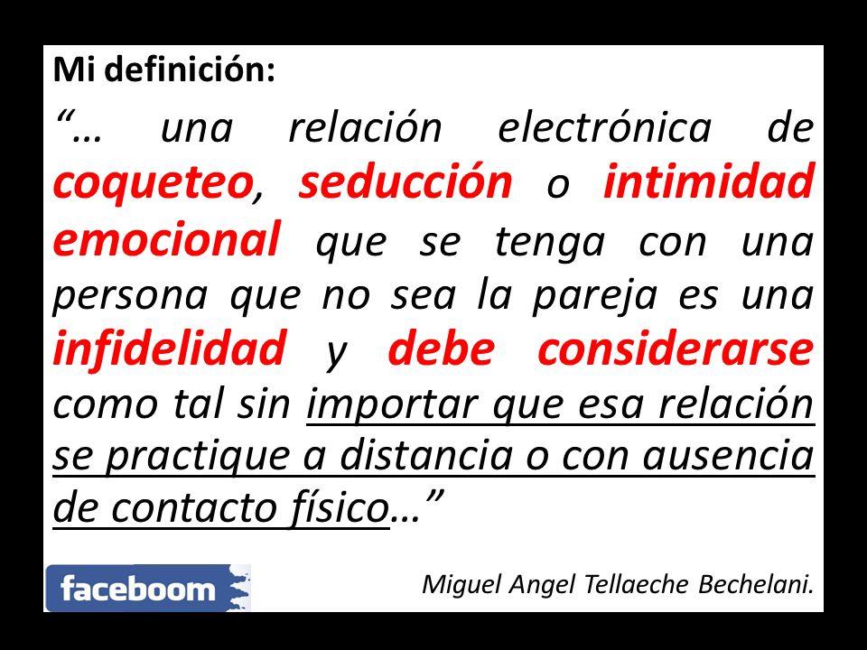 Mi definición: