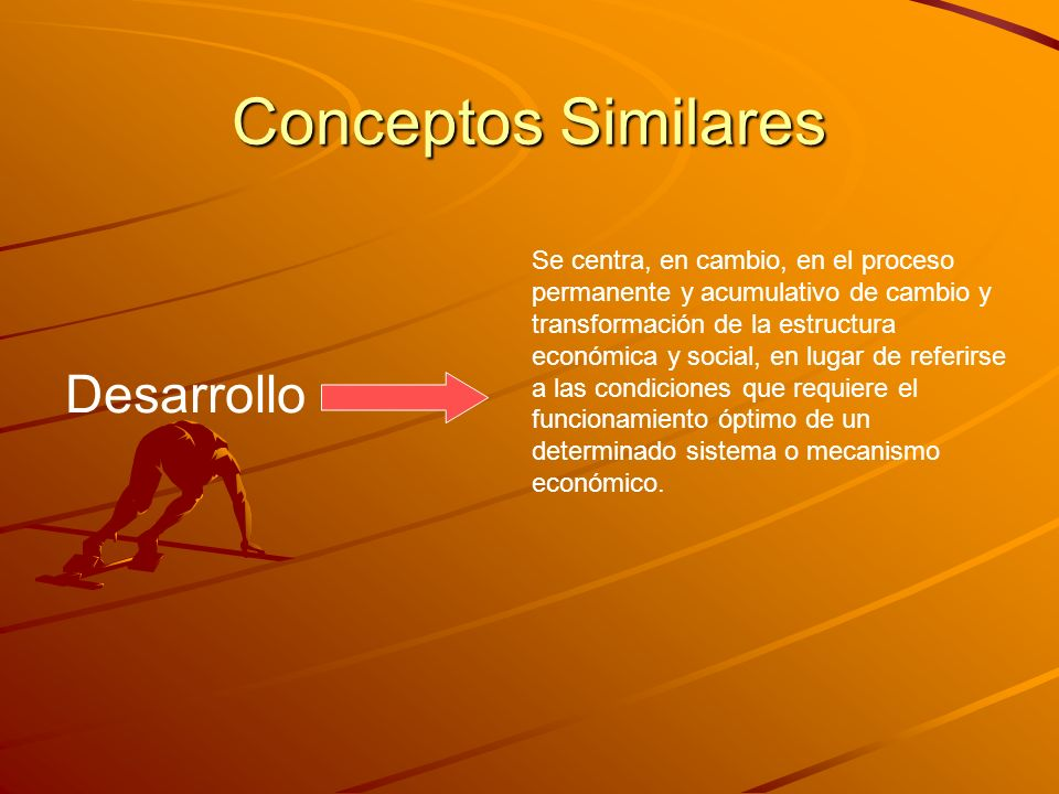 Conceptos Similares Desarrollo