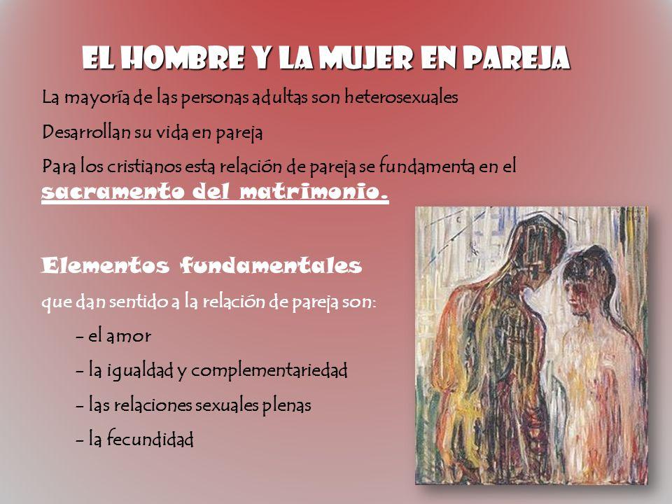 EL HOMBRE Y LA MUJER EN PAREJA