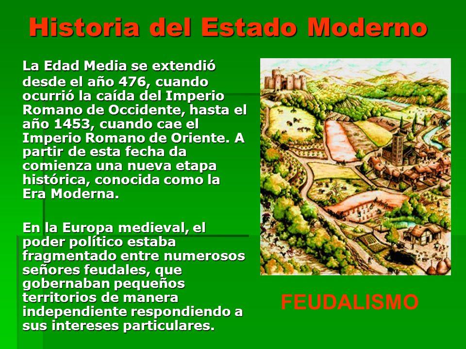 Historia del Estado Moderno