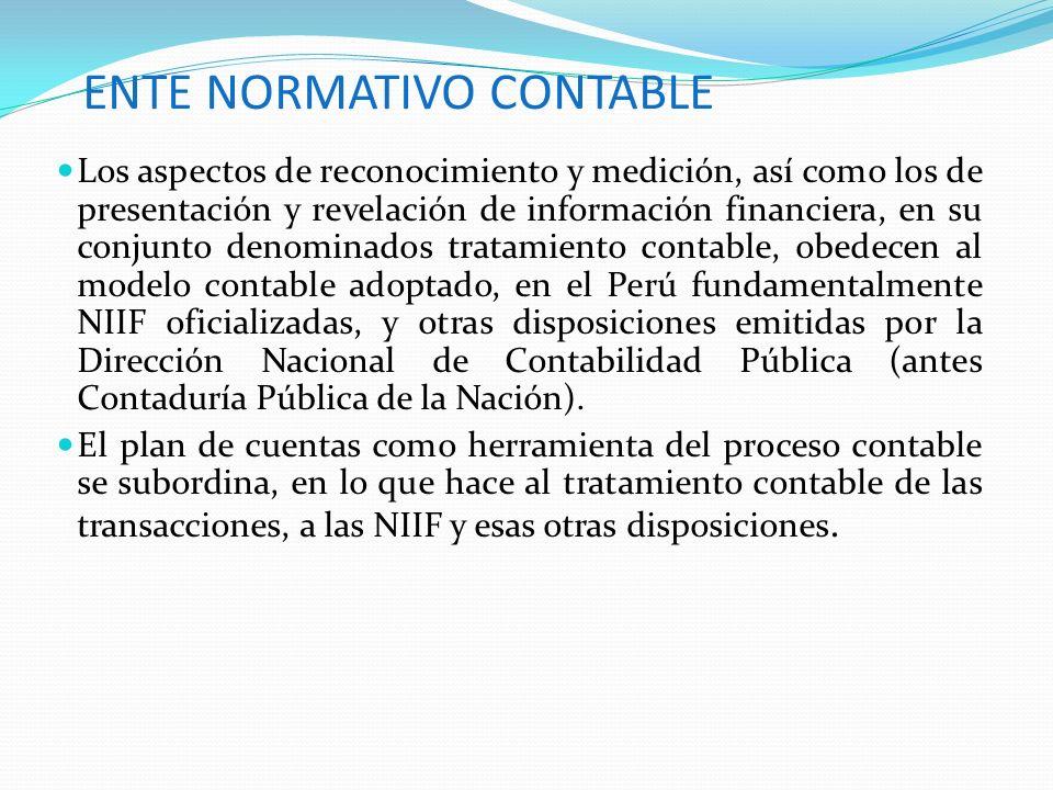 ENTE NORMATIVO CONTABLE