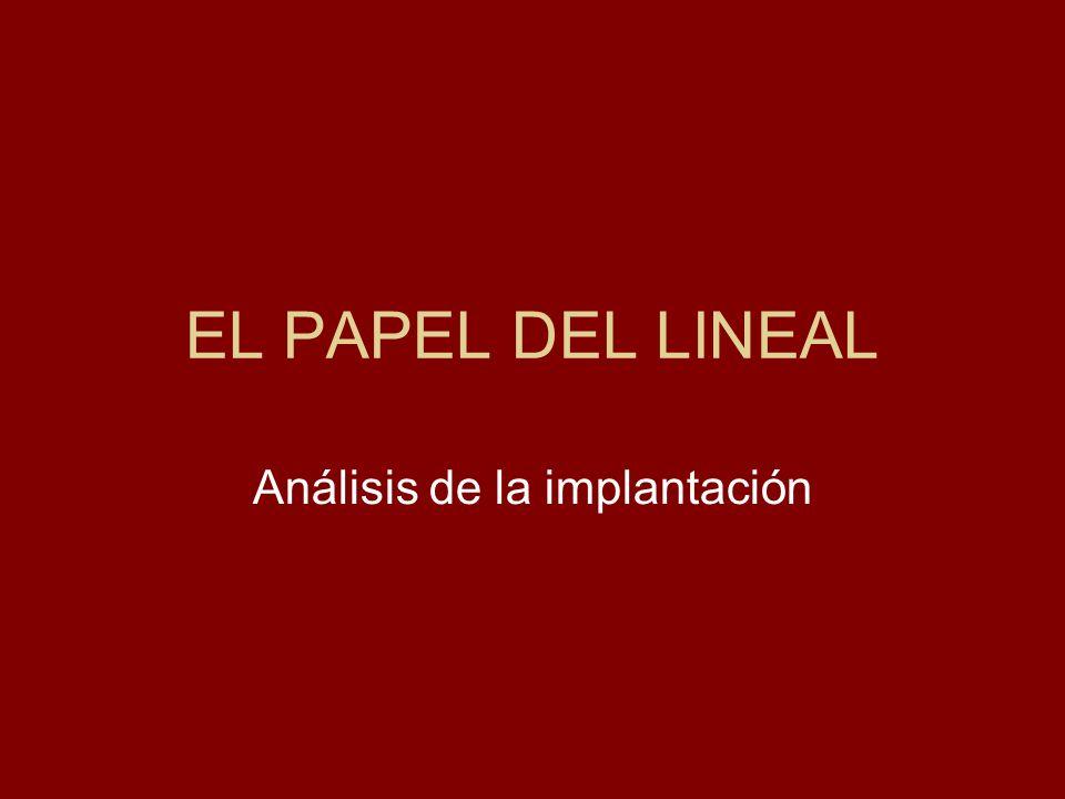 Análisis de la implantación