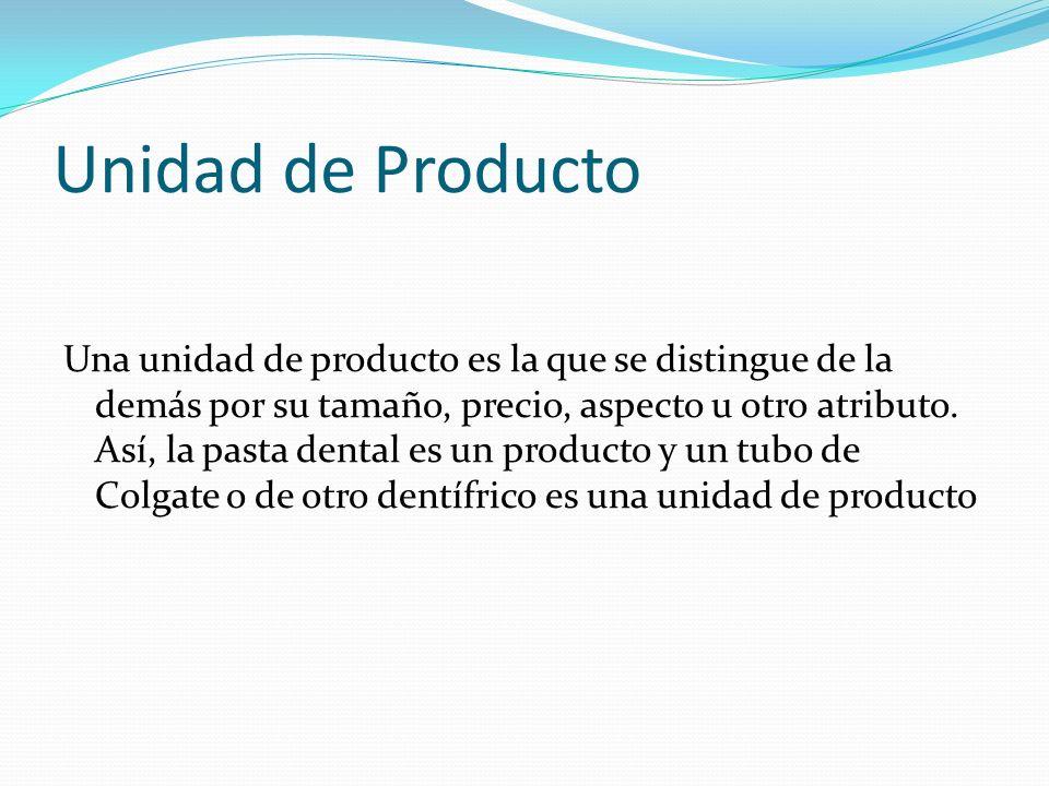 Unidad de Producto