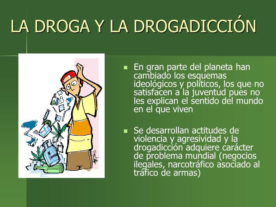 LA DROGA Y LA DROGADICCIÓN