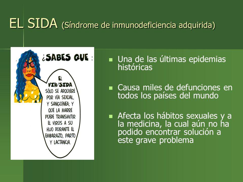EL SIDA (Síndrome de inmunodeficiencia adquirida)