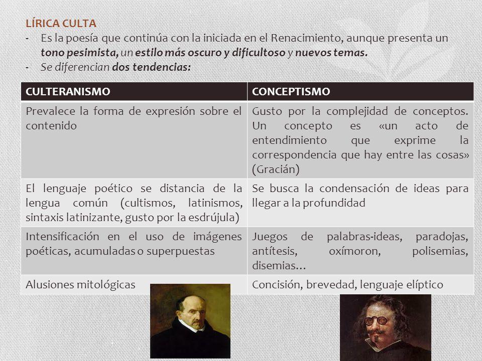 LÍRICA CULTA