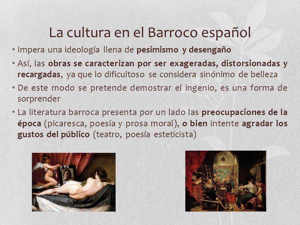 La cultura en el Barroco español