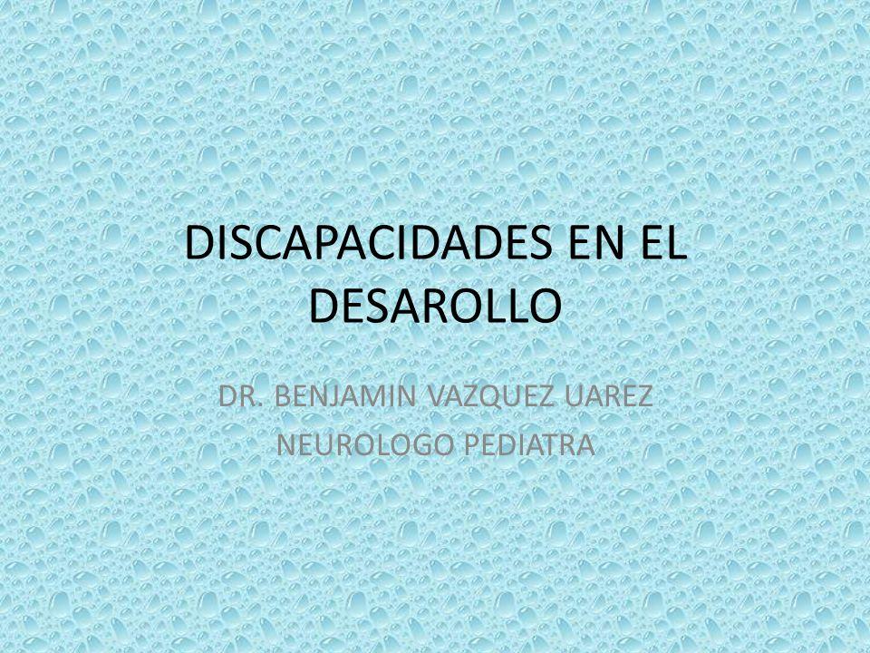 DISCAPACIDADES EN EL DESAROLLO