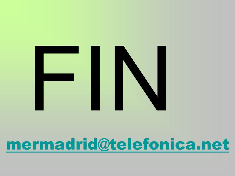 FIN mermadrid@telefonica.net