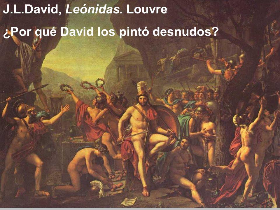 J.L.David, Leónidas. Louvre